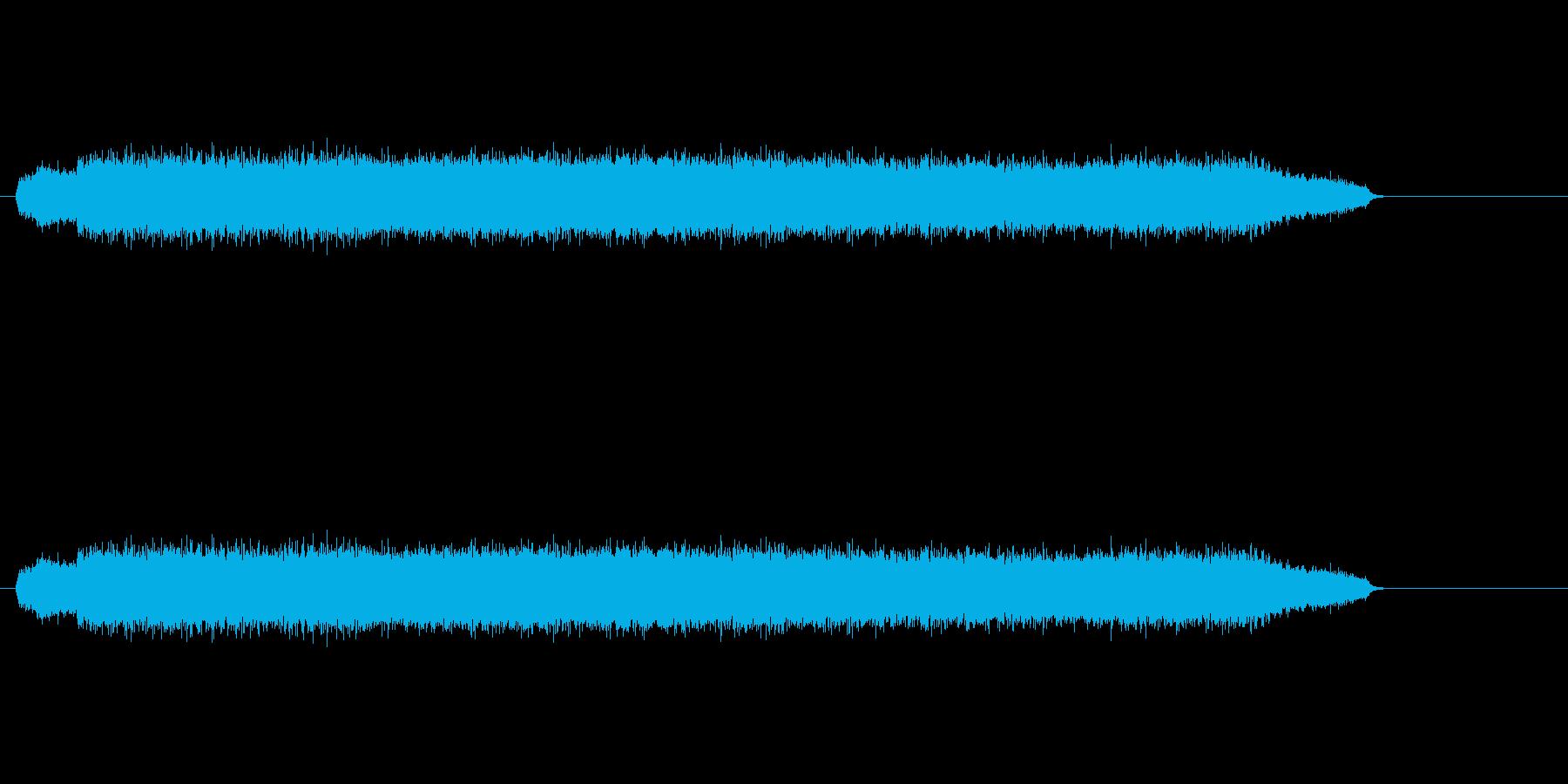 ウィーン(機械音)の再生済みの波形