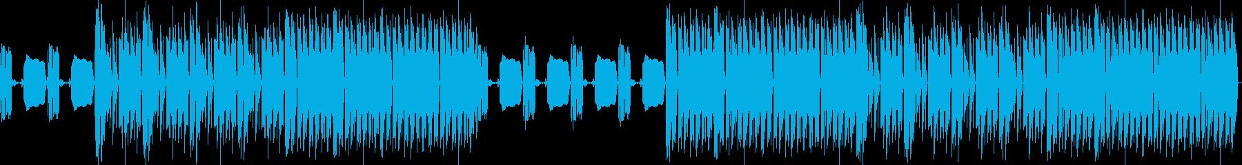 おしゃれ・ロック・EDM・気持ち良い7の再生済みの波形