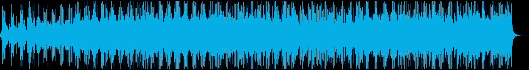 落ち着いたアコースティックギター&ピアノの再生済みの波形