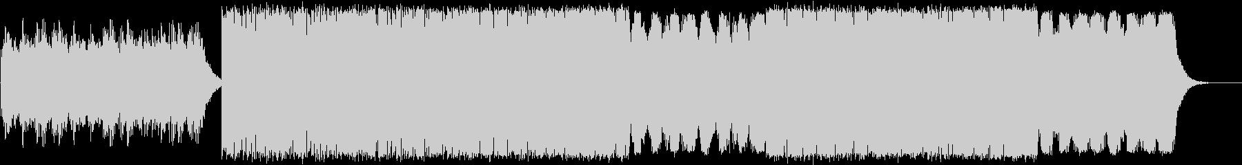 チェロとピアノの神秘的なテクスチャーの未再生の波形
