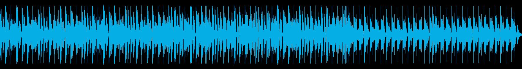 【ループ・Pf抜】軽快なピアノEDMの再生済みの波形