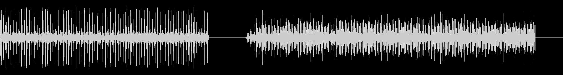 漫画-機械-2バージョンの未再生の波形