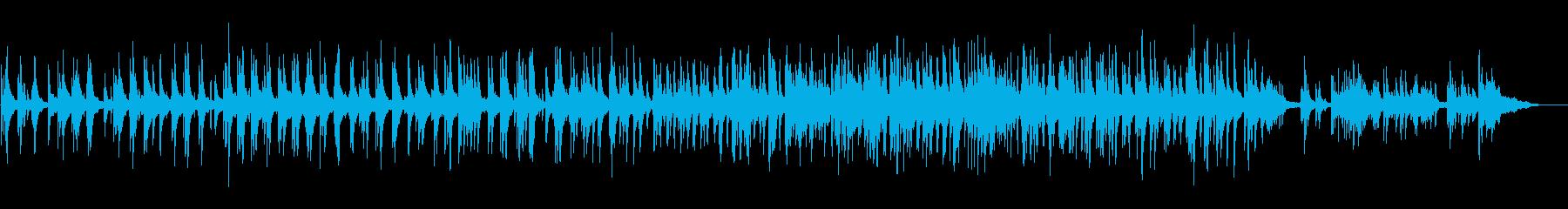 ゆっくりと優しいジャズトリオ。ピア...の再生済みの波形