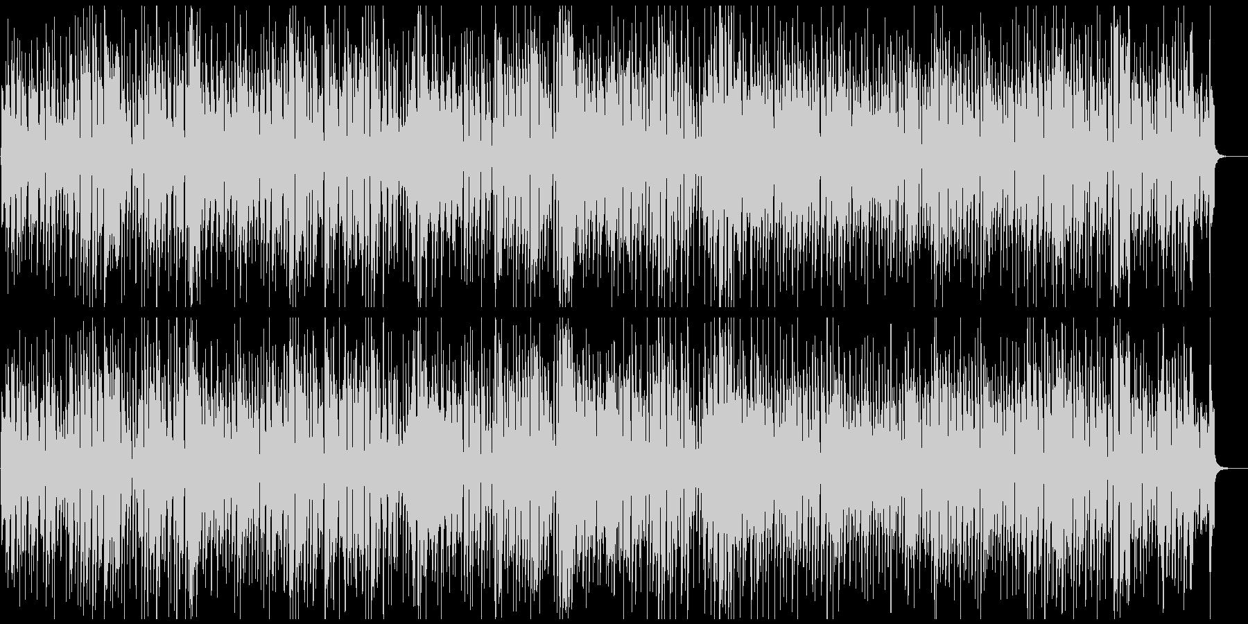 レトロハッピーわくわく軽快ジプシージャズの未再生の波形