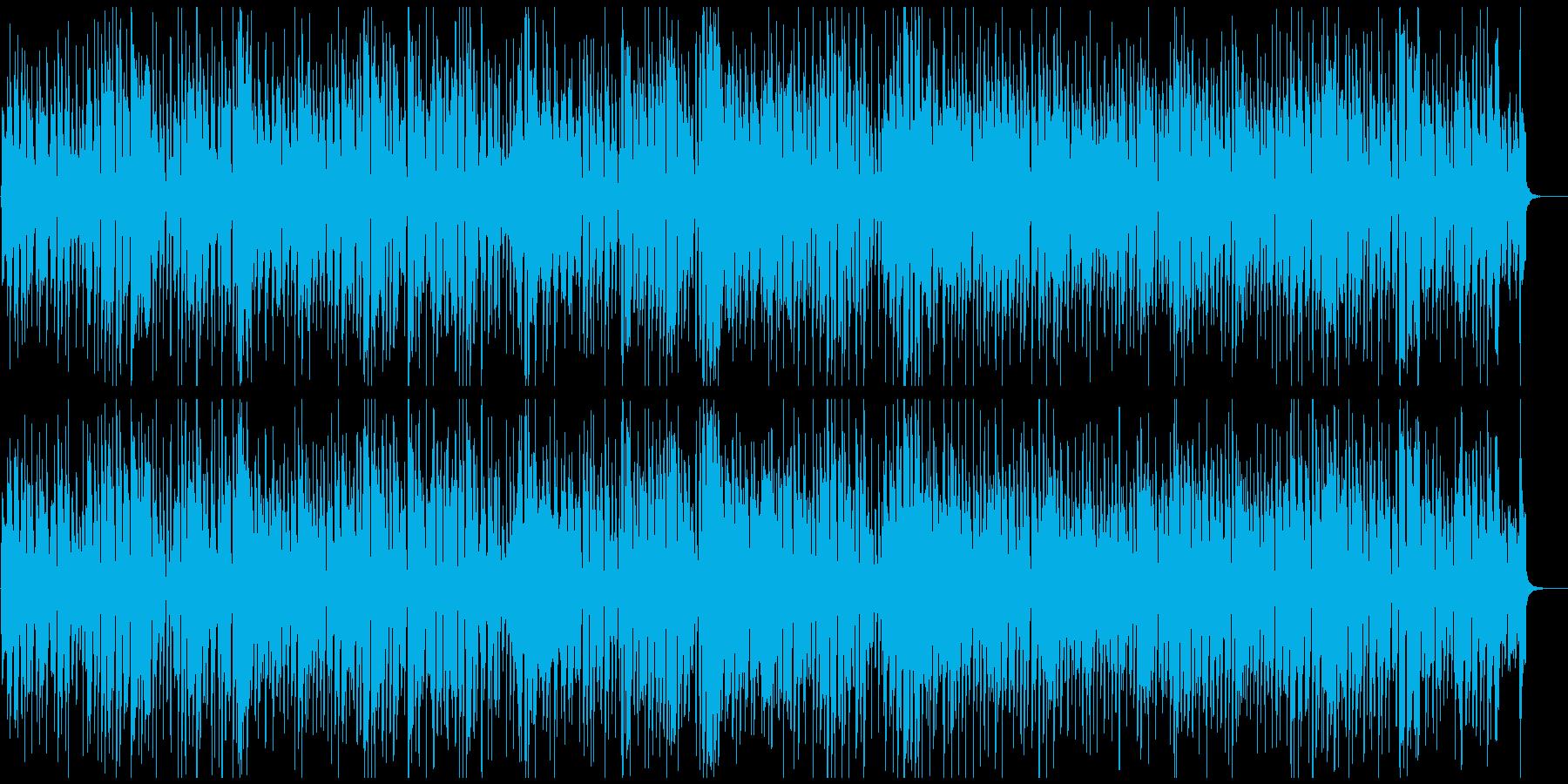 レトロハッピーわくわく軽快ジプシージャズの再生済みの波形