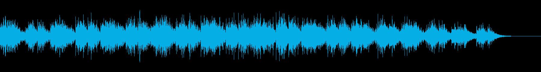 浮遊感を感じるきれいなサウンドの再生済みの波形