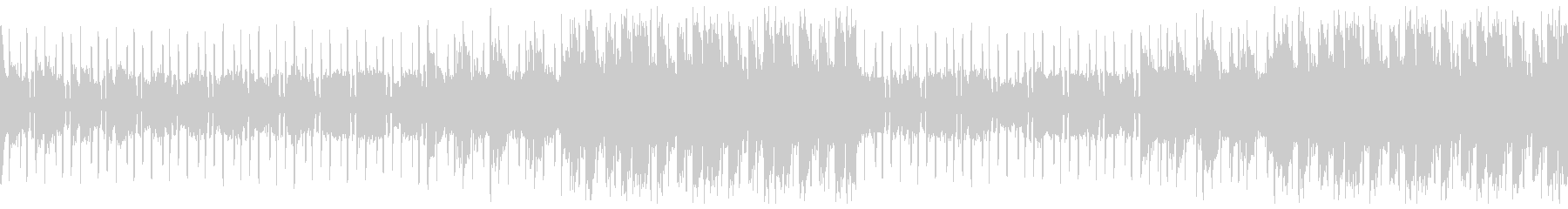 ループバージョンの未再生の波形