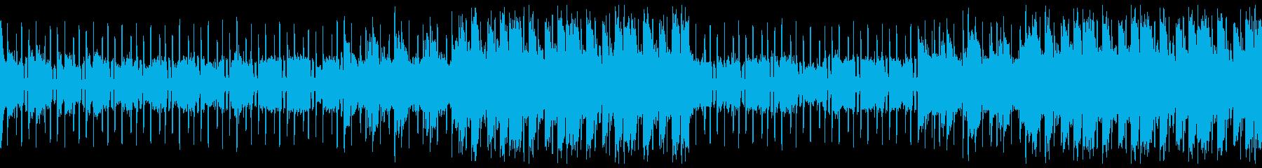 ループバージョンの再生済みの波形