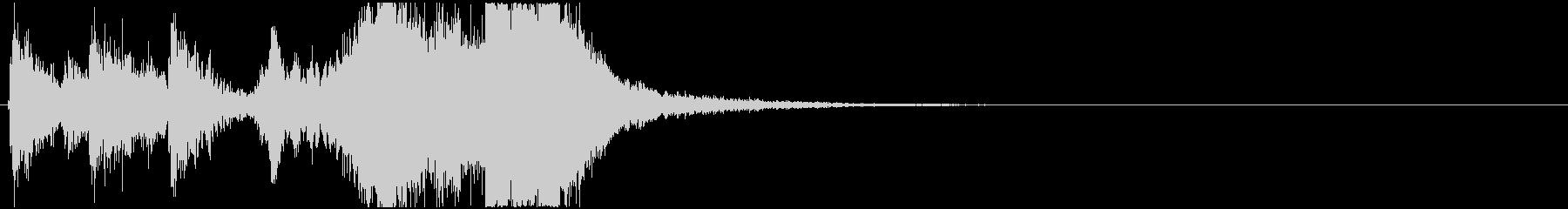 23 中程度の長さの金管ファンファーレの未再生の波形