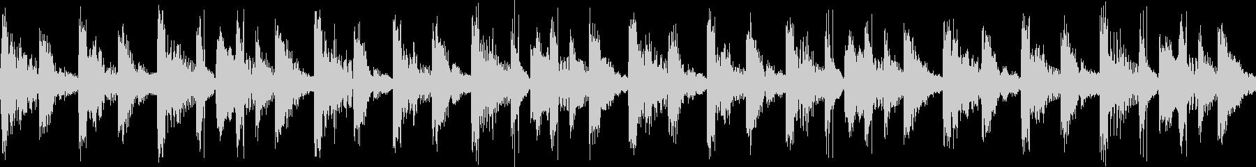 キャラ選択、システム画面(ループ)2-2の未再生の波形