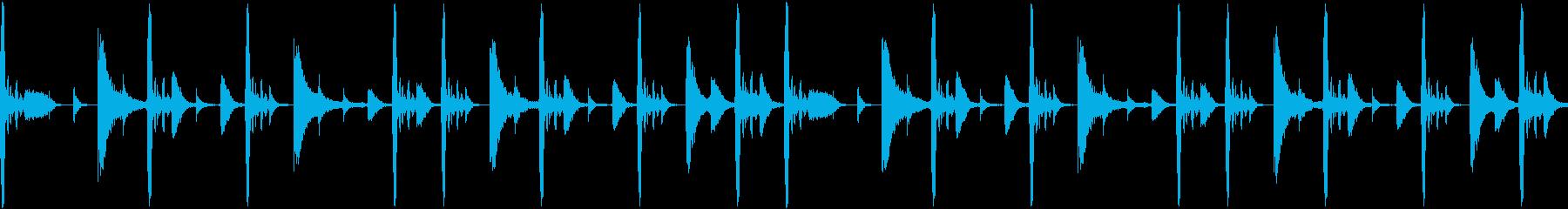 ファンク ドラムパターン ディスコの再生済みの波形
