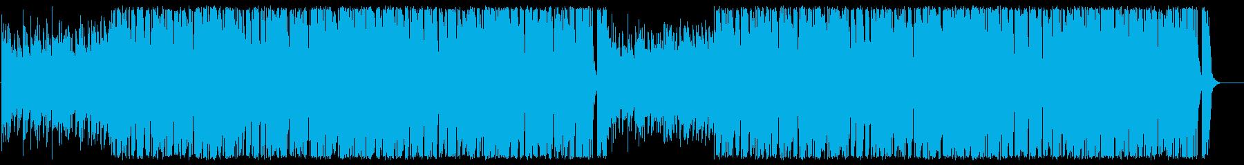 おしゃれで大人っぽいBGMの再生済みの波形