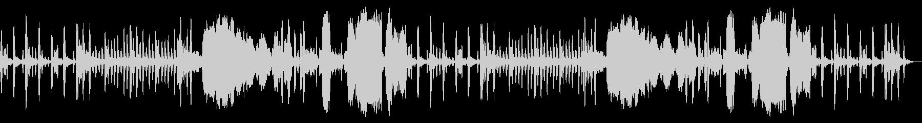 ほのぼの系BGM(リコーダー4重奏)の未再生の波形