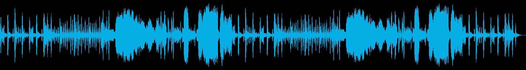 ほのぼの系BGM(リコーダー4重奏)の再生済みの波形
