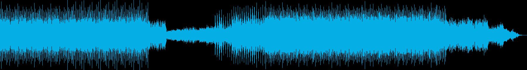 ドライブ向きのミニマルテクノの再生済みの波形