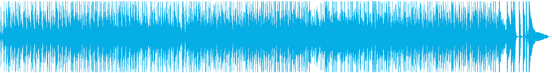 ハッピー&わくわくの再生済みの波形