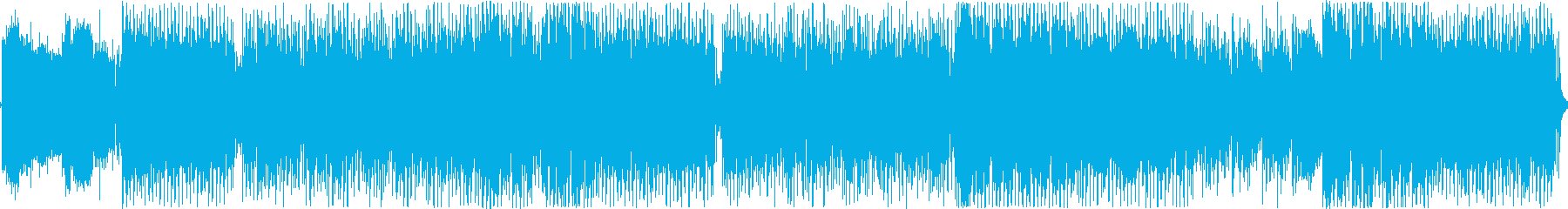 明るくかわいいテクノポップソングの再生済みの波形