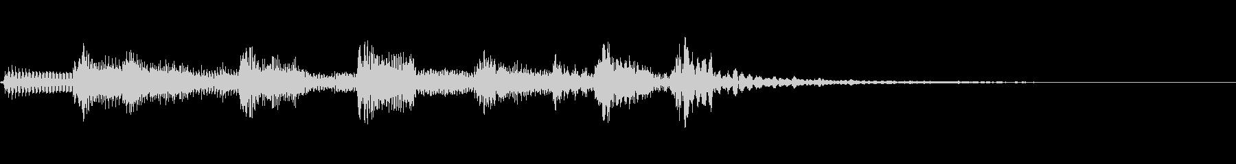オシャレなジャズ アコギ  ジングル1の未再生の波形