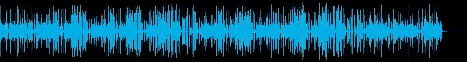 ファンク・渋い・クールの再生済みの波形