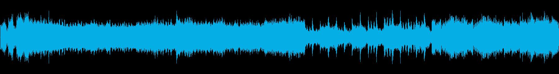 オーケストラワルツ入場舞踏会の再生済みの波形