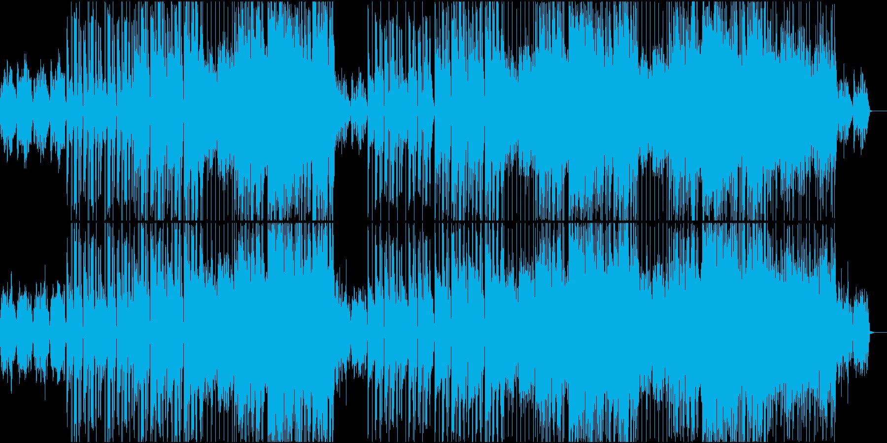 キレイでお洒落・神秘的なポップスの再生済みの波形