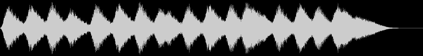 ヒーリング 安らぎのアンビエントの未再生の波形