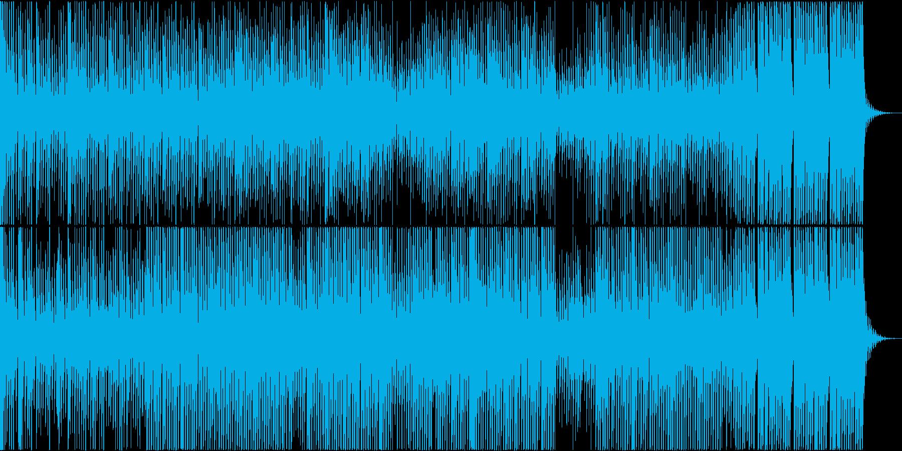 地底深くを漂うダーク系テクノの再生済みの波形