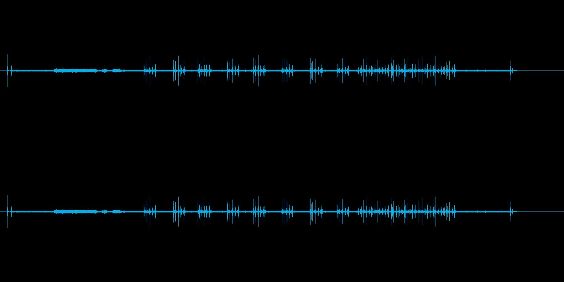 映画プロジェクター1の再生済みの波形