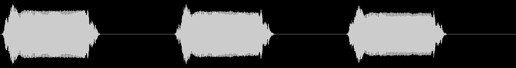 携帯電話 バイブレーション03-15(毛の未再生の波形