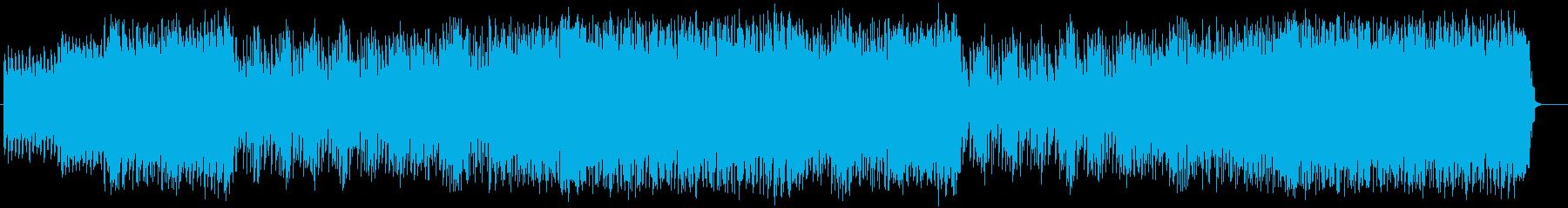疾走感とワクワク感ギターシンセサウンドの再生済みの波形