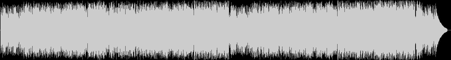 笛による和風でJazzyなインスト曲の未再生の波形