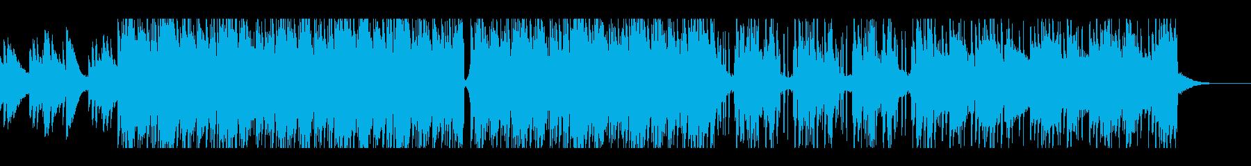 Lofi HIPHOPゆったりしたビートの再生済みの波形