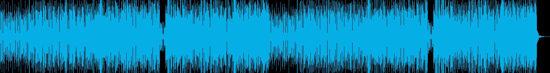 リズミカルなゲームテクノの再生済みの波形