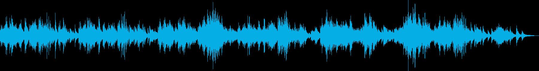温かくて切ないピアノバラード(優しい)の再生済みの波形