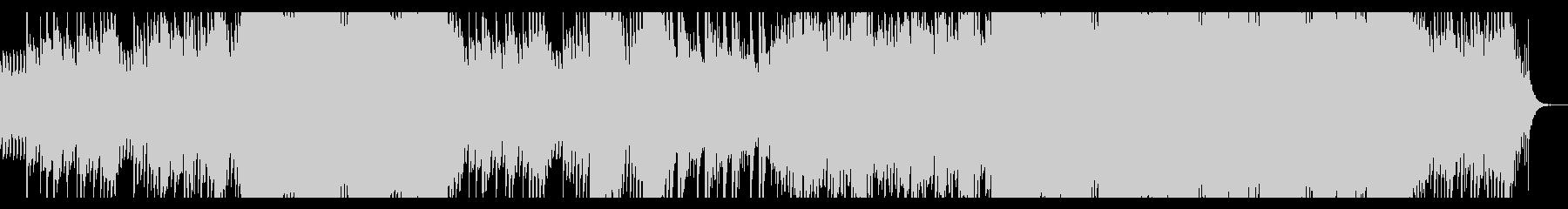 ダークファンタジー調の和風音楽の未再生の波形