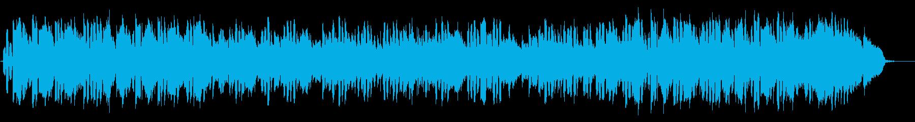 ハーモニカ生演奏哀愁漂うロックバラードの再生済みの波形