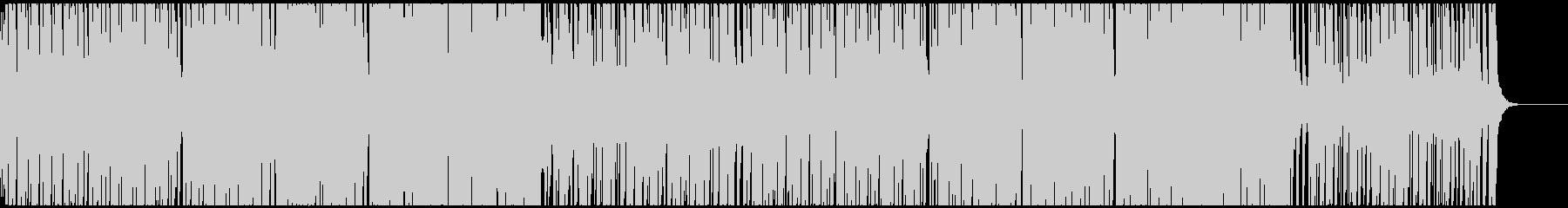 リズミカル前向きテクノポップ CM・映像の未再生の波形