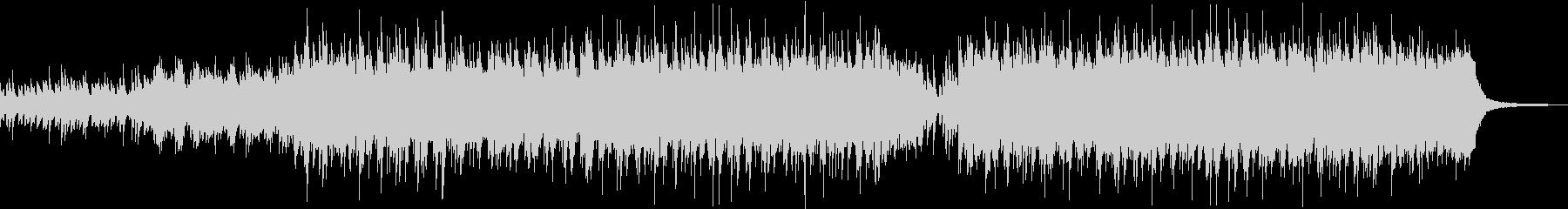 企業VPや映像にドラマチックピアノBGMの未再生の波形