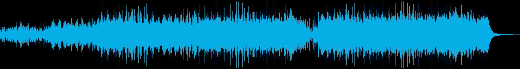 企業VPや映像にドラマチックピアノBGMの再生済みの波形