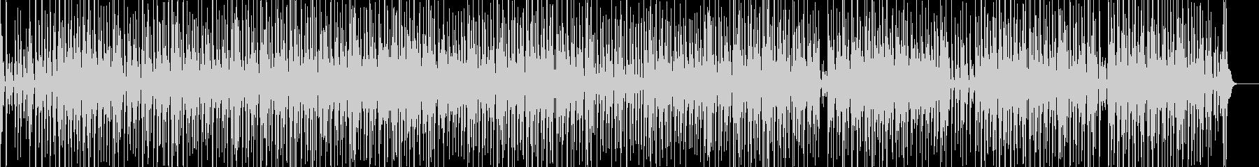 ファンキーな三味線ヒップホップの未再生の波形