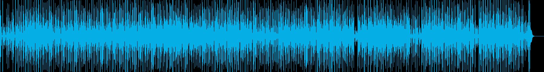 ファンキーな三味線ヒップホップの再生済みの波形