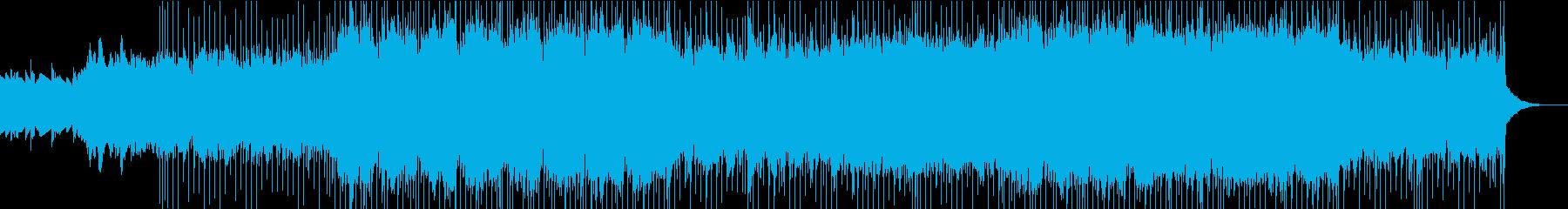ほとばしる疾走感/レーシング/対決/生音の再生済みの波形