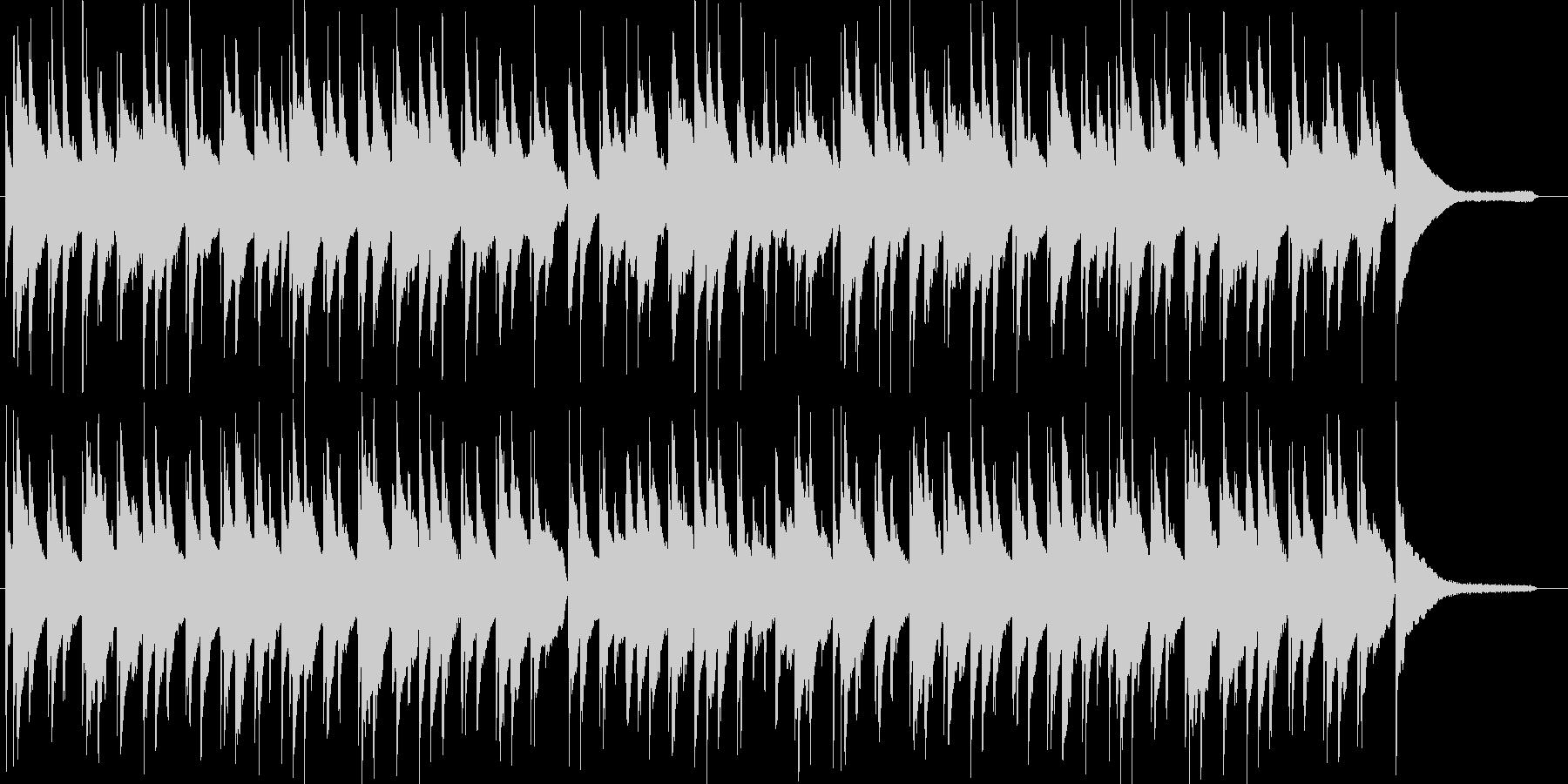 琴とピアノによる日本を感じさせるワルツの未再生の波形