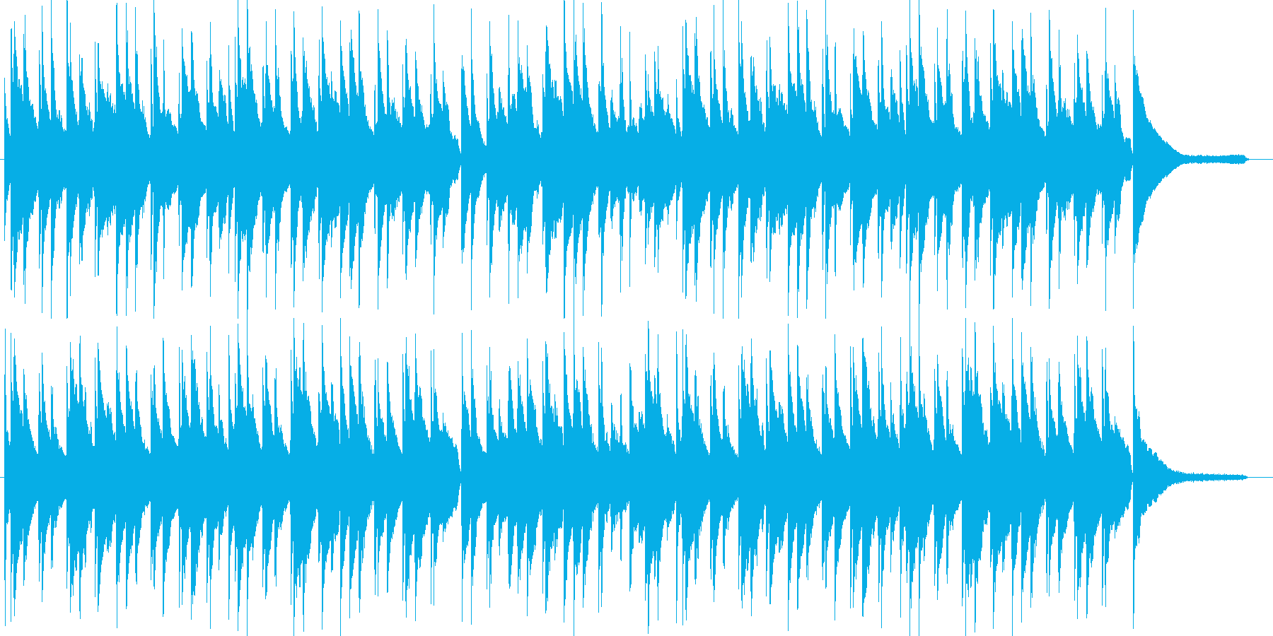 琴とピアノによる日本を感じさせるワルツの再生済みの波形