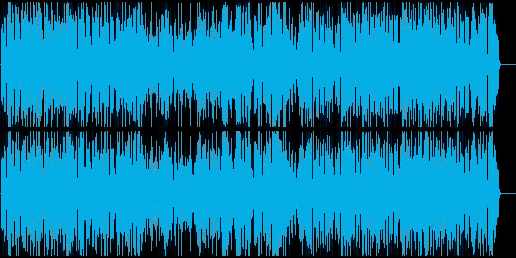 50年代風のジャズブルース サックス生録の再生済みの波形