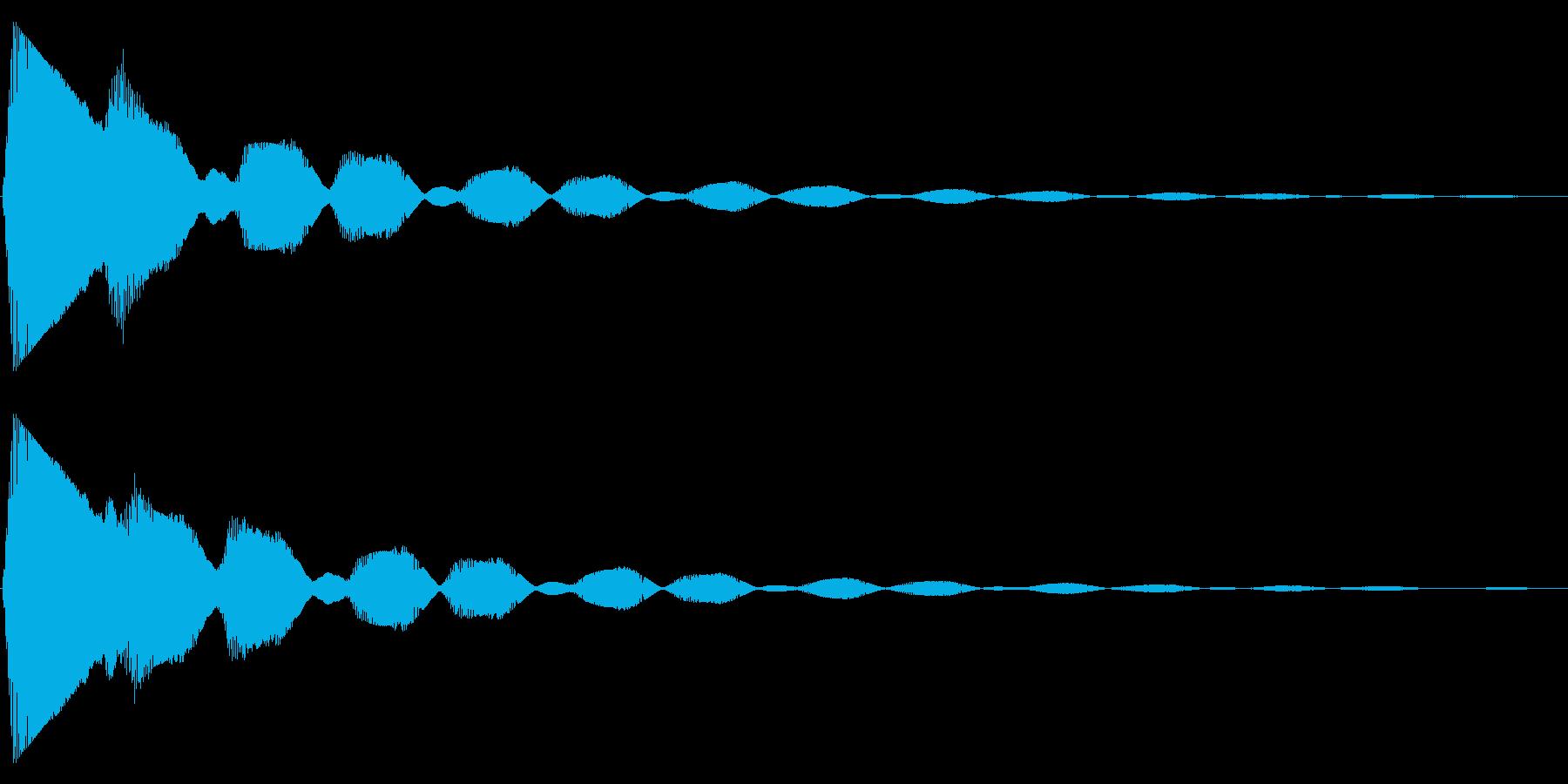 ステータスアップ・アイテムゲット1の再生済みの波形