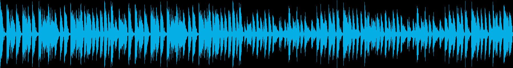 あのクリスマスの名曲をジャズで3(ループの再生済みの波形