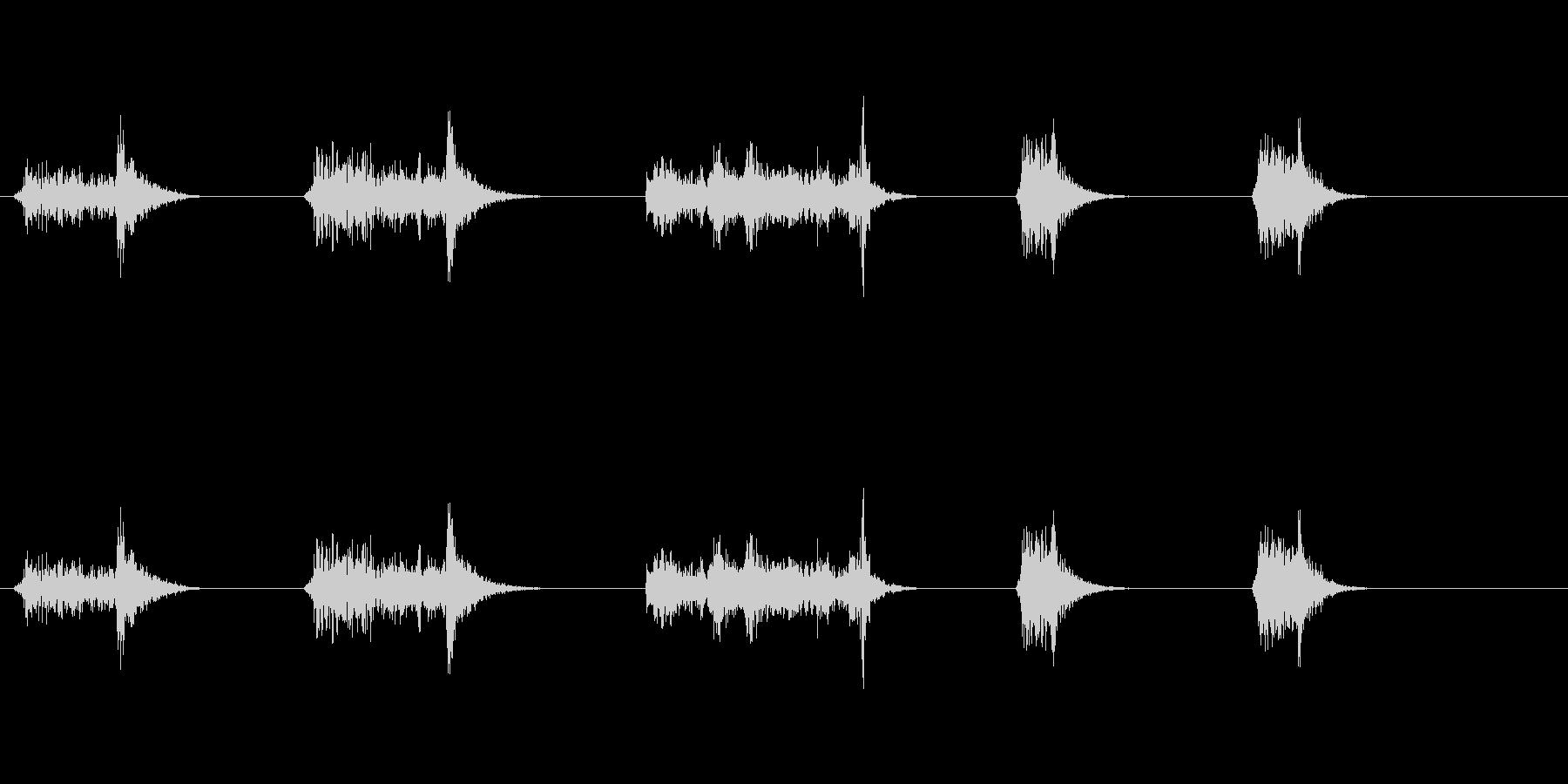 城門1の未再生の波形