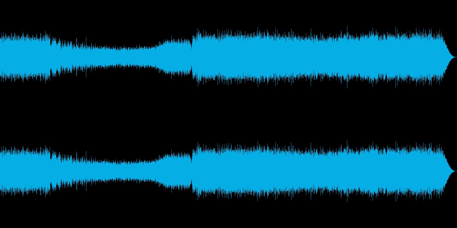 蝉(ニイニイゼミ/クマゼミ/真夏)_1の再生済みの波形