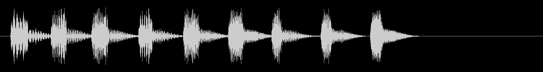 上昇_アップ_200702の未再生の波形